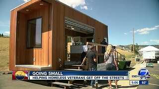 Non-profit looks to tiny homes to help homeless vets
