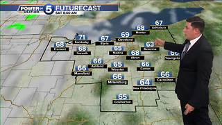 Akron Thursday afternoon weather