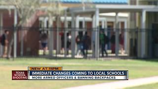 Tampa Bay schools make security changes for final days of school year - Video