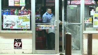 Early morning break-in at Quality Dairy store in Lansing - Video