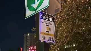New app makes parking in Downtown Las Vegas easier - Video