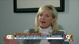 Gretchen Carlson's advice for standing up to workplace harassers - Video