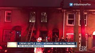 Underground electrical fire in Downtown Baltimore - Video