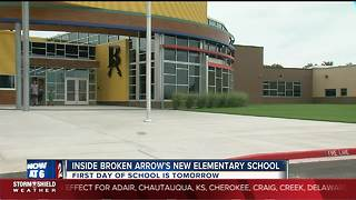 Broken Arrow Schools opening 15th elementary school Thursday - Video