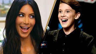 Millie Bobby Brown Bringing Kim Kardashian to 'Stranger Things??' - Video