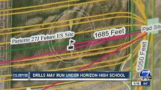 Oil and Gas Company plans to drill underneath Thornton high school - Video