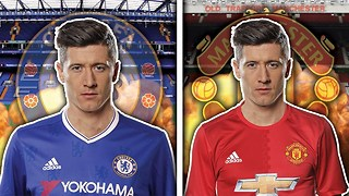 Robert Lewandowski In Talks With Chelsea & Manchester United | Transfer Talk - Video