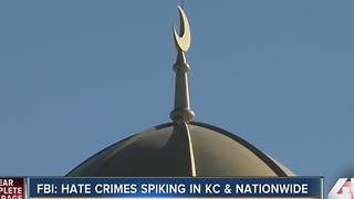 FBI: Hate crimes spiking in Kansas City and nationwide - Video