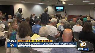 Residents voice concern over housing plan - Video