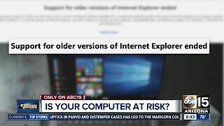 Is your computer at risk?