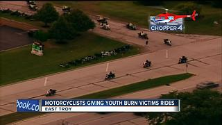 Annual Burn Victims Motorcycle Rides - Video
