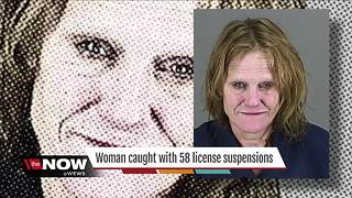 Barberton woman has been cited for license suspension more than 50 times - Video