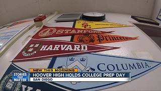 College Prep Day at Hoover High helps students navigate college application process