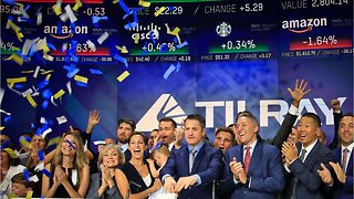 Cannabis producer Tilray jumps in stock market