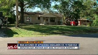 House guest allegedly attacks, stabs 11-year-old because he was talking in his sleep - Video