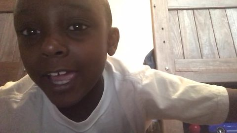 Kid Steals Mom's Phone To Record A Personalized Love Song