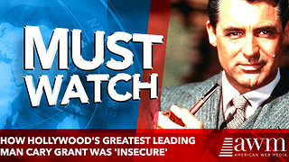 How Hollywood's greatest leading man Cary Grant was 'insecure' - Video