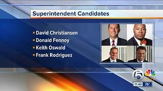Palm Beach County School District releases names of candidates for superintendent - Video