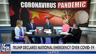 The Five reacts to Trump declaring national emergency amid coronavirus pandemic