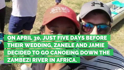 5 Days Before Her Wedding, Crocodile Attacks and Eats Bride's Arm