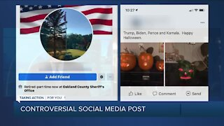 Oakland County deputy fired over racist social post