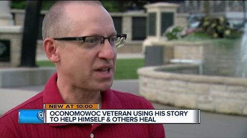 Soldier turns PTSD therapy journal into book
