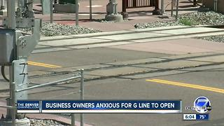 Business owners anxious for G Line to open - Video