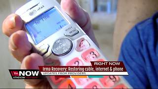 Irma Recovery: Restoring cable, internet & phone - Video