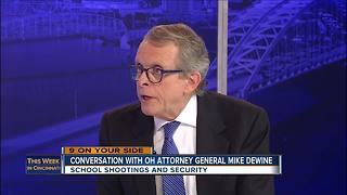 This Week in Cincinnati: Ohio Attorney General Mike DeWine on Pike County massacre, school shootings - Video