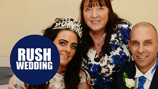 Couple rush wedding plans so dying mother can attend their special day - Video