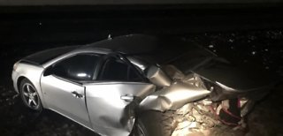 Woman dies after crash with car