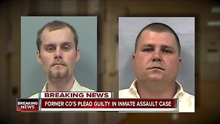 Cuyahoga County jail former CO's plead guilty in inmate assault case