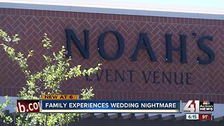 Local family experiences wedding nightmare