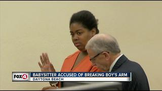 Florida Woman Accused of Breaking Boy's Arm - Video