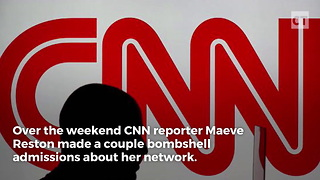 CNN Reporter Admits Truth About Network's Coverage - Video