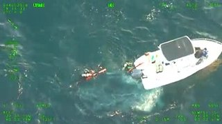 Divers rescued Saturday off Martin County - Video