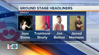 Exciting Friday on tap as Summerfest does Day 3: Get giveaway, promotion details - Video