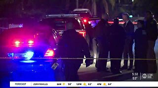 Man shot, killed in Tampa, search for suspect underway