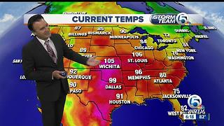 South Florida weather 7/22/17 - 6pm report