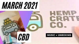 March 2021 Hemp Crate Unboxing + Jimmy Eat World