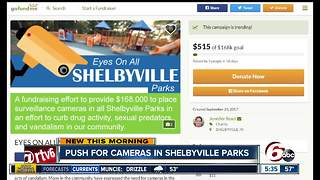 Push to get surveillance cameras in Shelbyville Parks - Video