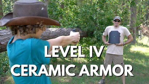 Shooting Level IV Ceramic Armor - MAKE IT CRUMBLE!!!!