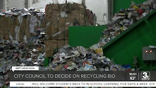 City Council to decide on recycling bid