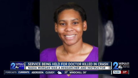 Johns Hopkins holds memorial to honor life of doctor killed in hit and run crash