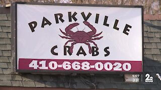 Vehicle drives into Parkville Crabs, killing an individual inside