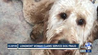 Woman claims Colorado company sold her a fake service dog - Video