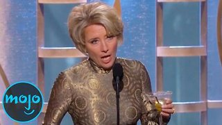 Top 10 Celebrities WASTED at Award Shows - Video