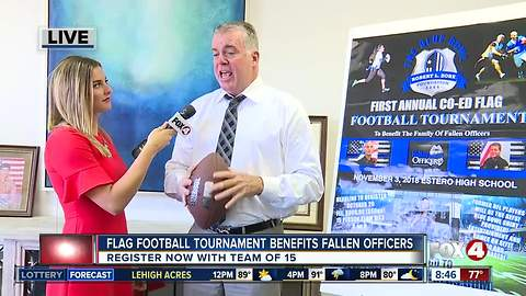 Flag Football Tournament to benefit families of fallen officers