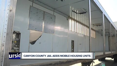 Canyon County Jail adds mobile housing units in response to overcrowding