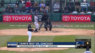 Mallex Smith ties career high with 4 hits, Tampa Bay Rays beat Chicago White Sox 5-4 - Video